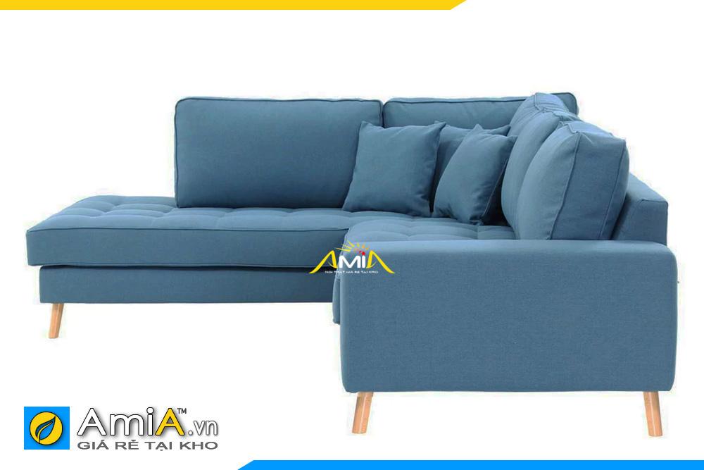 sofa nỉ đẹp thiết kế kiểu góc