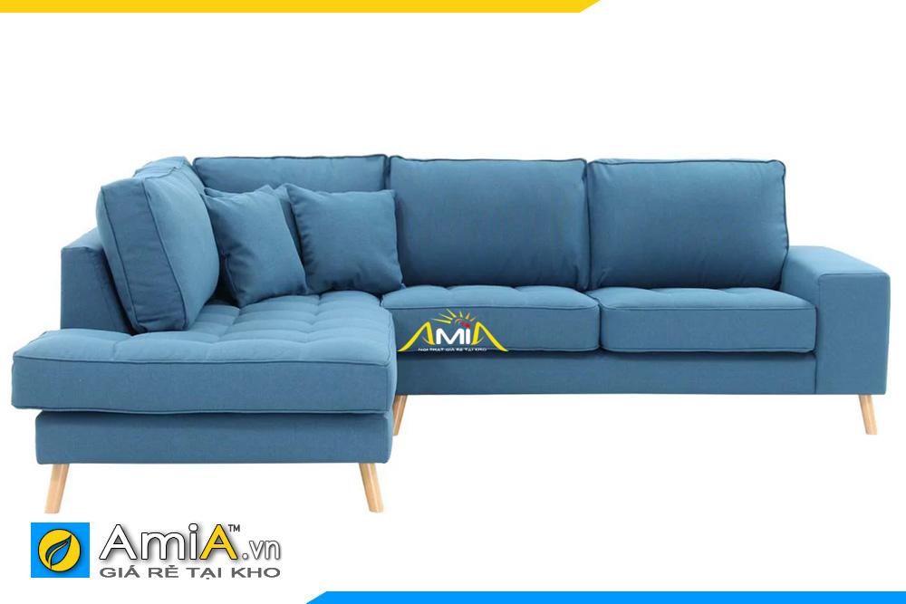 sofa nỉ đẹp kiểu góc chữ L