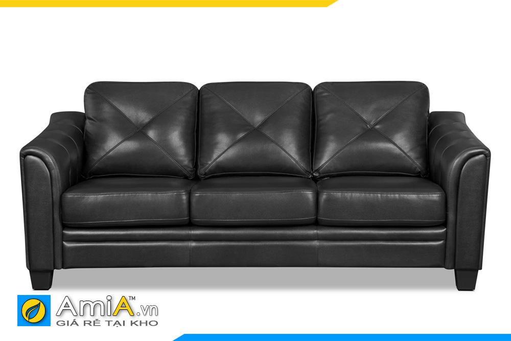 hình ảnh ghế sofa văng da đen
