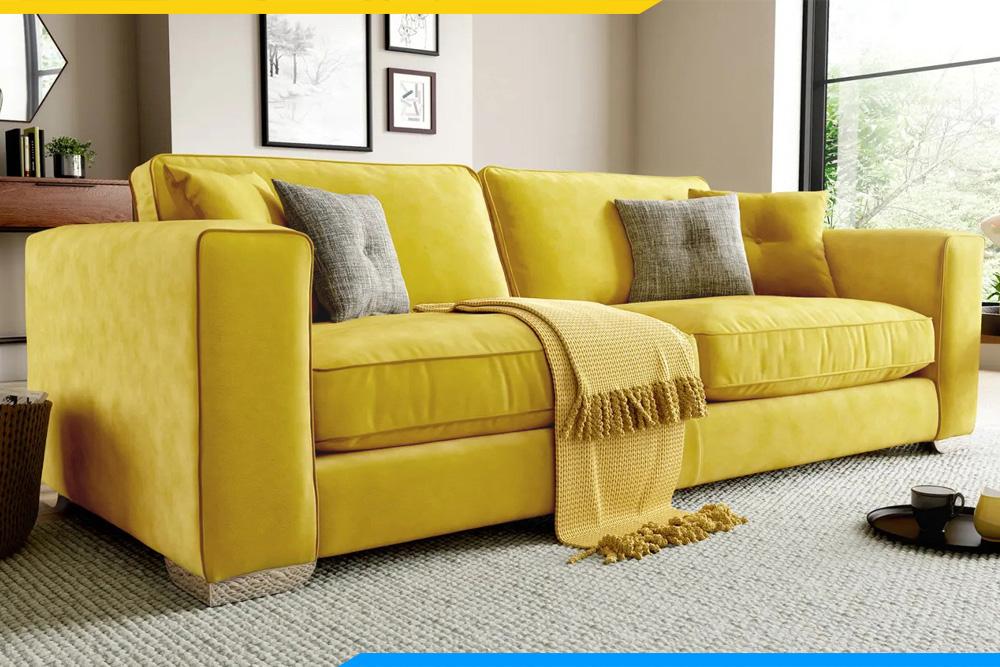ghế sofa văng màu vàng AmiA 20232