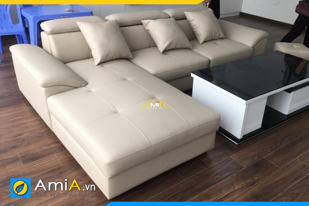 Ghế sofa góc chữ L rẻ đẹp