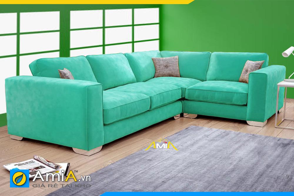 ghế sofa đẹp màu xanh lam AmiA 20231