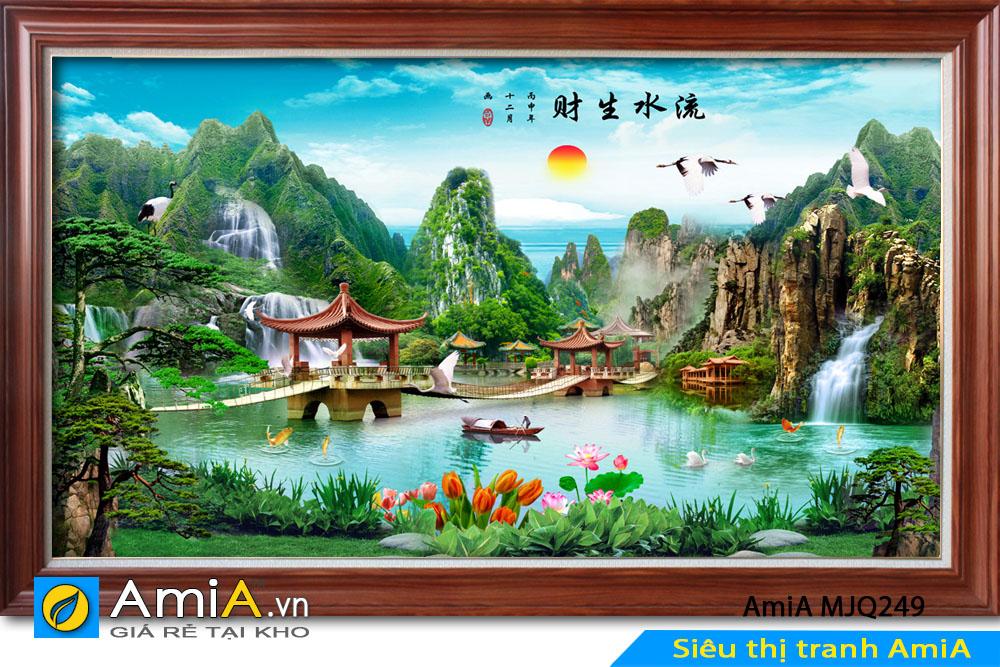 Tranh đẹp phong cảnh thiên nhiên