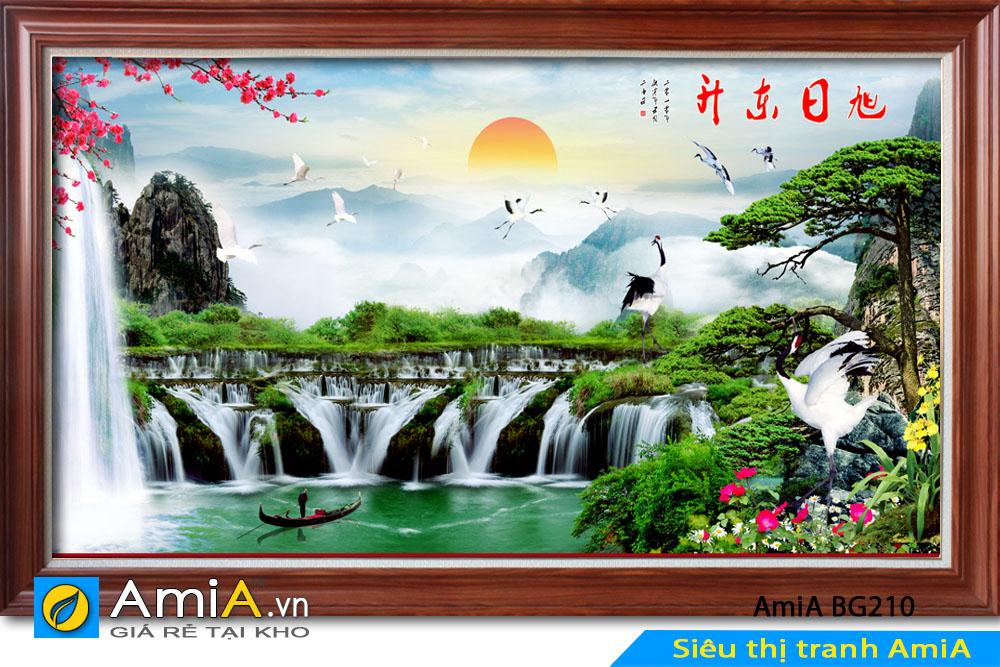 Tranh đẹp về thiên nhiên AmiA BG210