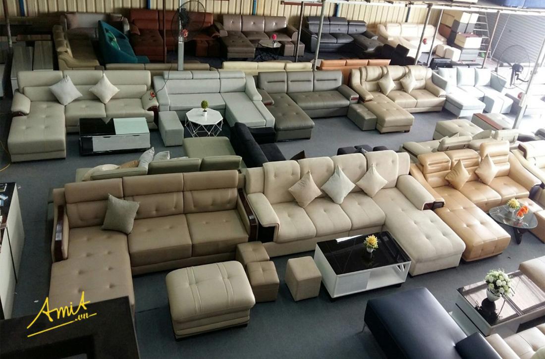 hình ảnh cửa hàng sofa Hà Nội