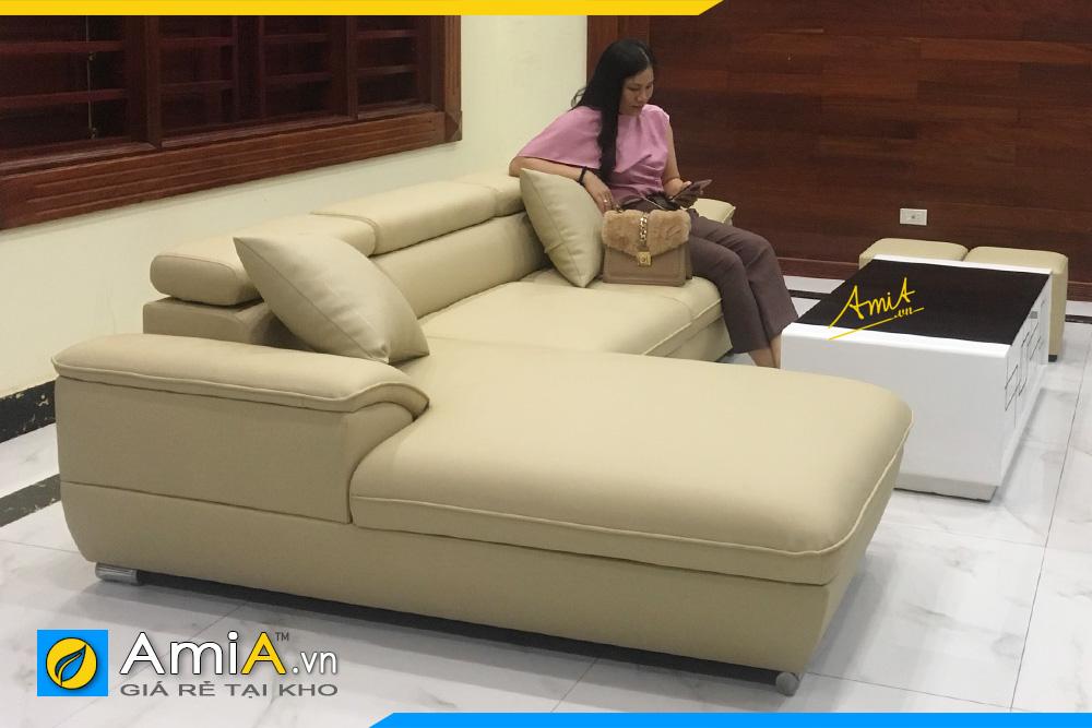 Mẫu ghế sofa góc giá rẻ bình dân