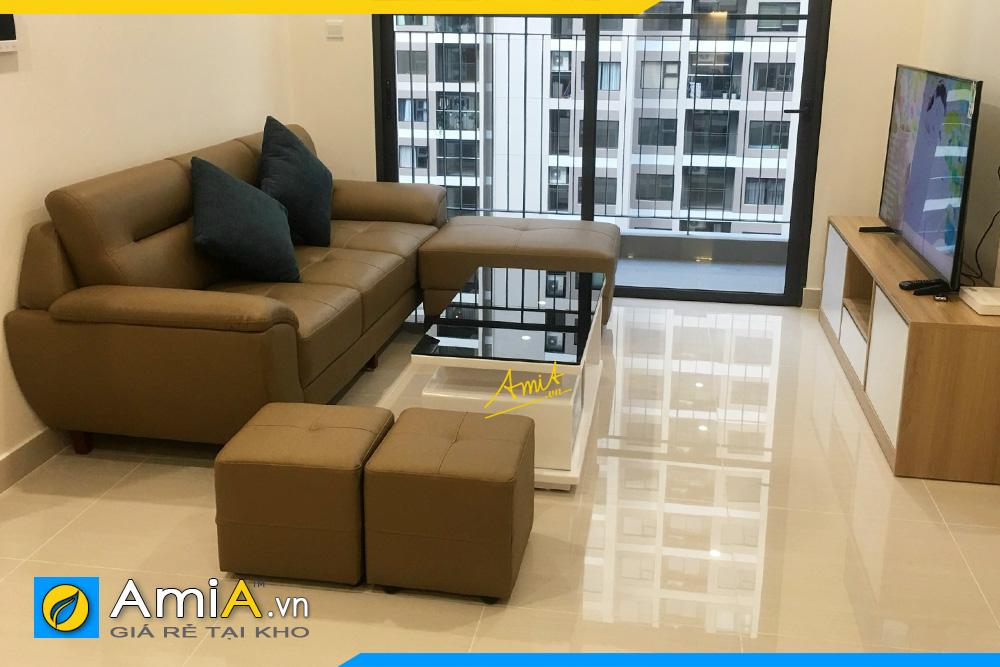 hình ảnh bộ ghế sofa nhỏ dạng văng