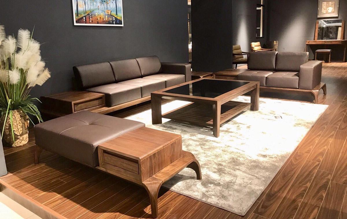 sofa kê phòng khách đẹp