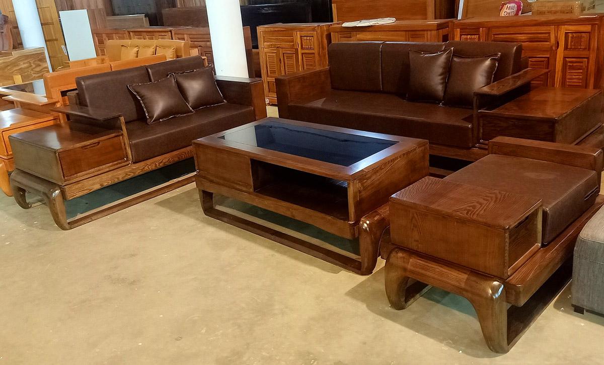 sofa gỗ cho mọi không gian