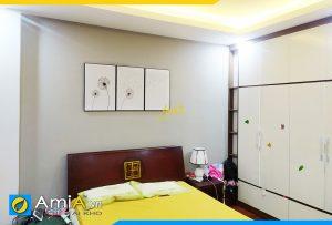Hình ảnh Bộ tranh hoa bồ công anh treo tường phòng ngủ AmiA 1860