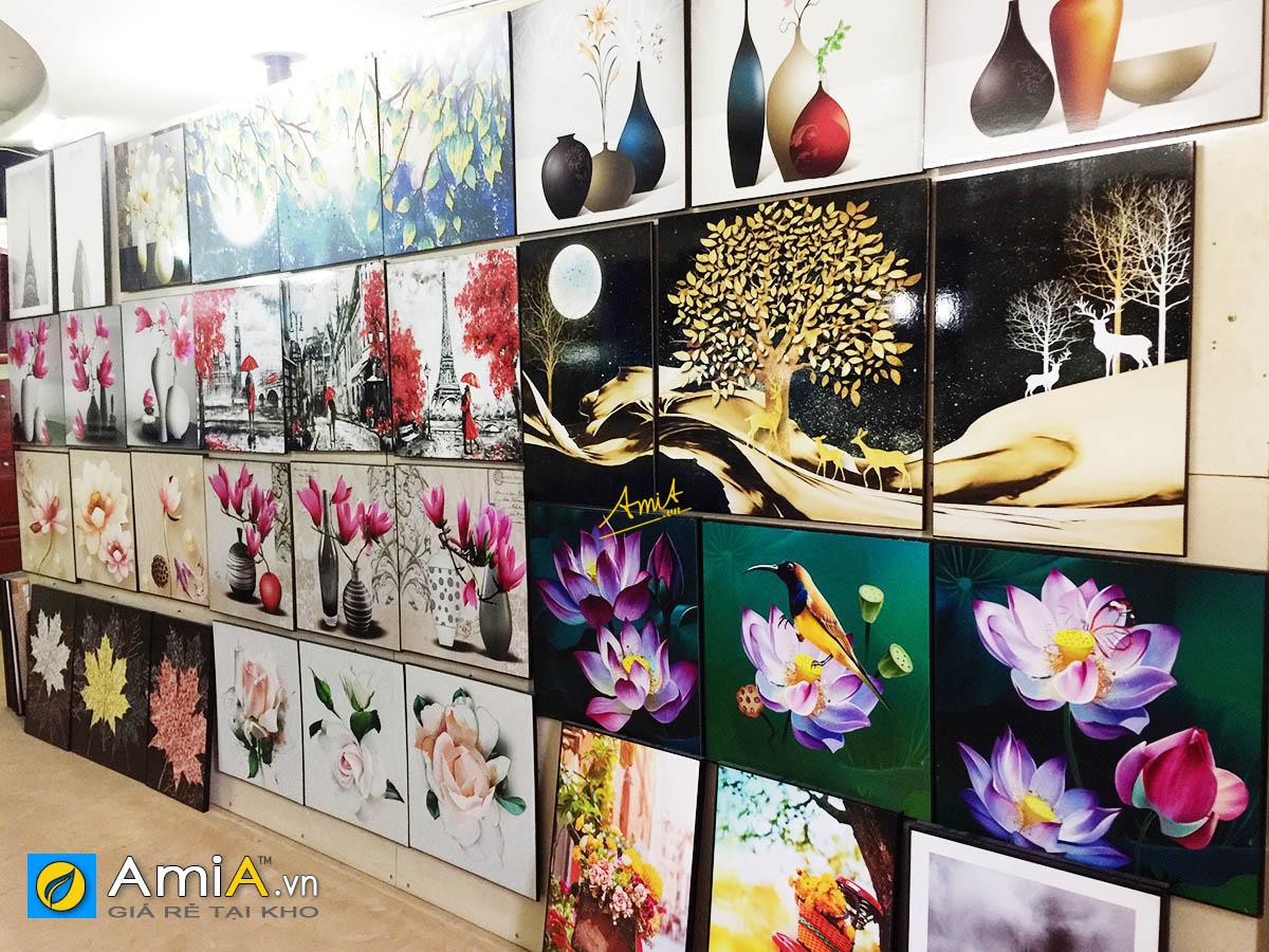 Hình ảnh Các mẫu tranh canvas treo tường tại Siêu thị tranh AmiA