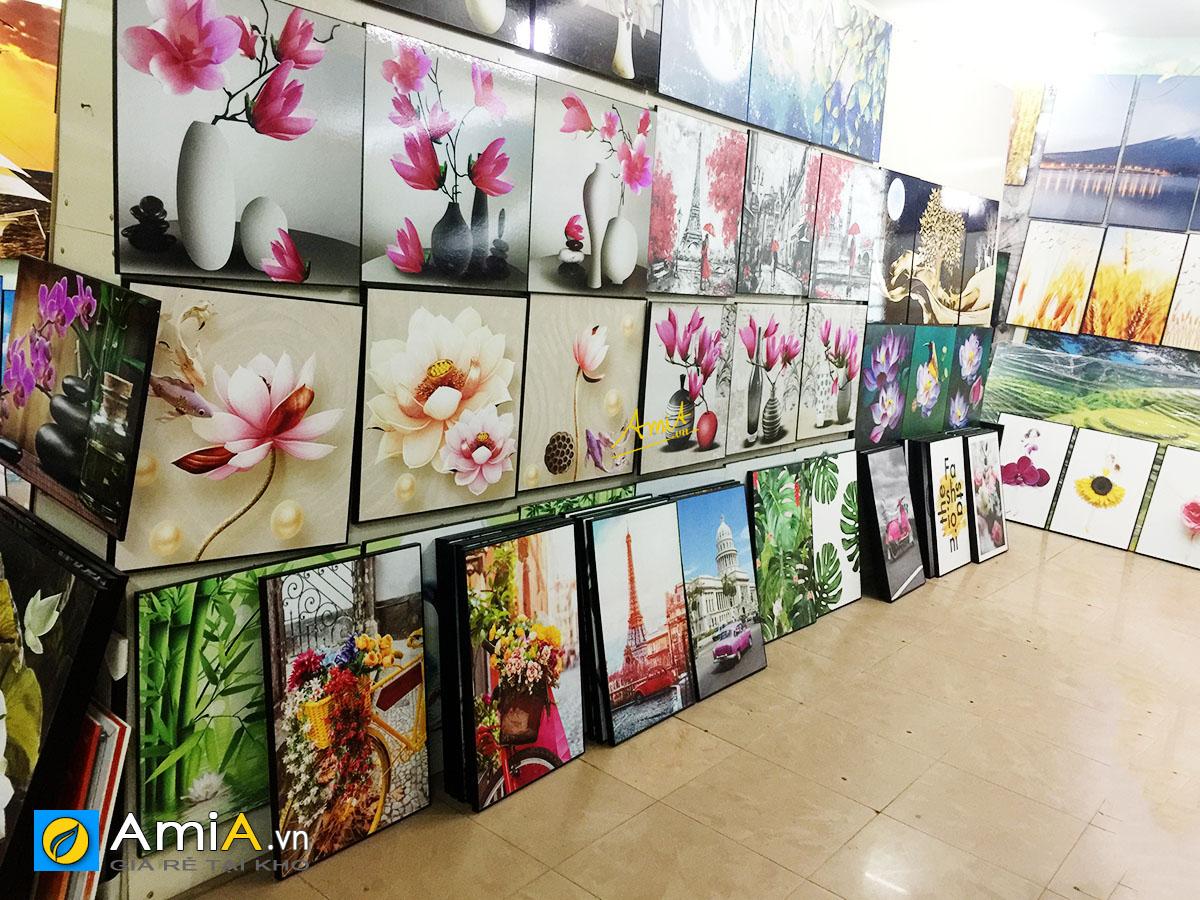 Hình ảnh Các mẫu tranh in canvas treo tường đẹp hiện đại nhiều mẫu sẵn