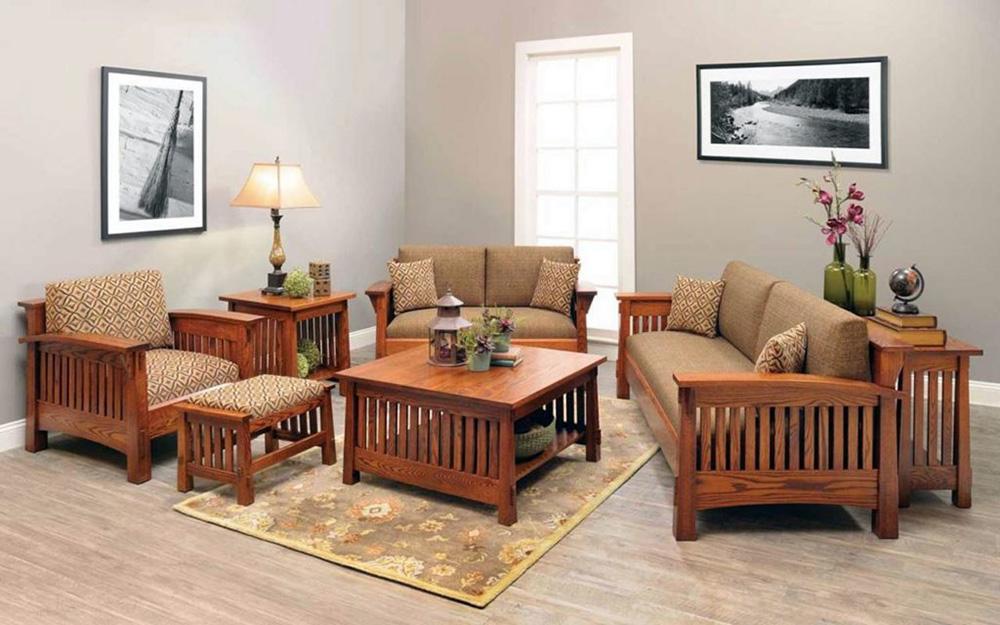 sofa văng gỗ bền đẹp giá rẻ