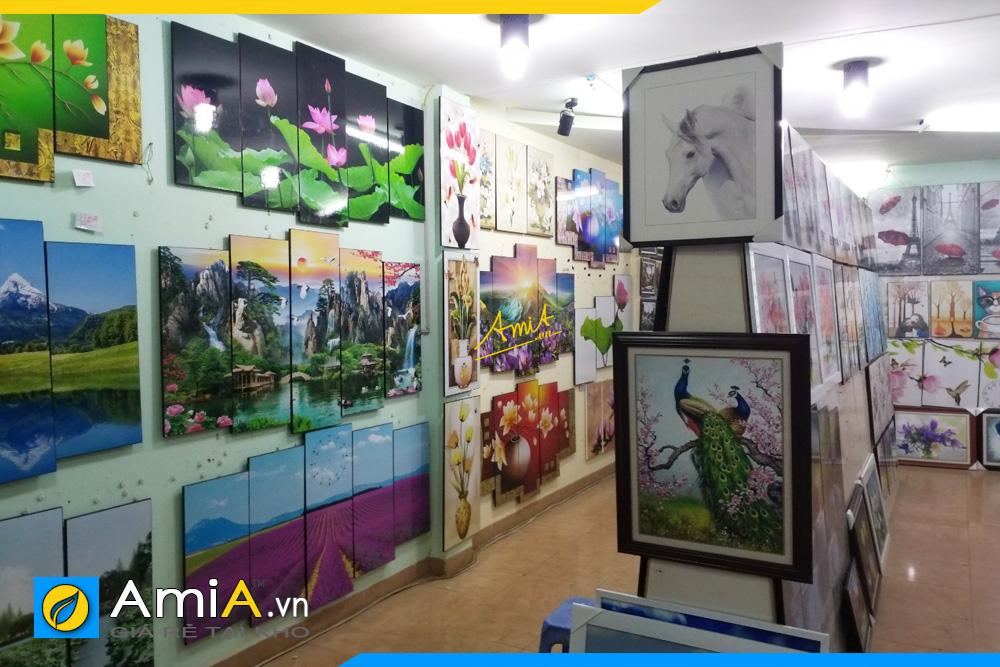 cửa hàng tranh lớn nhất Hà Nội