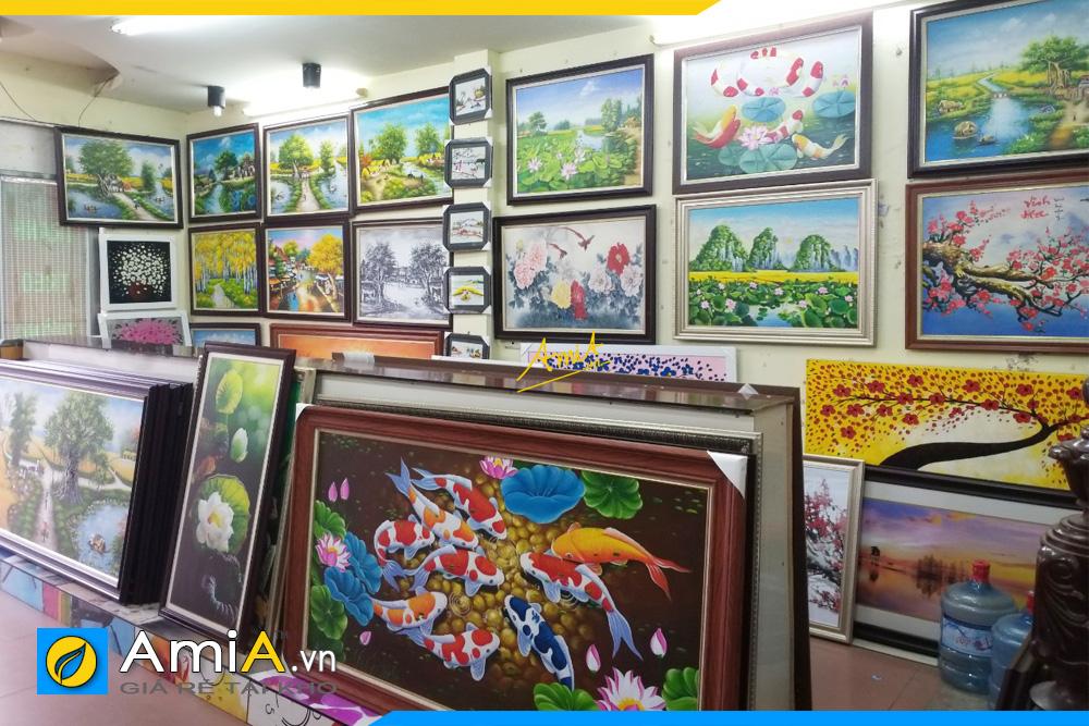 phòng trưng bày tranh lớn nhất