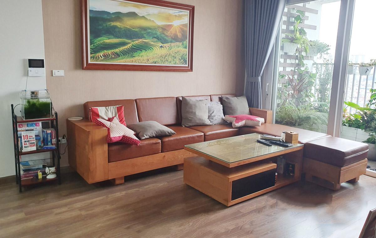 sofa gỗ đẹp cho mọi không gian