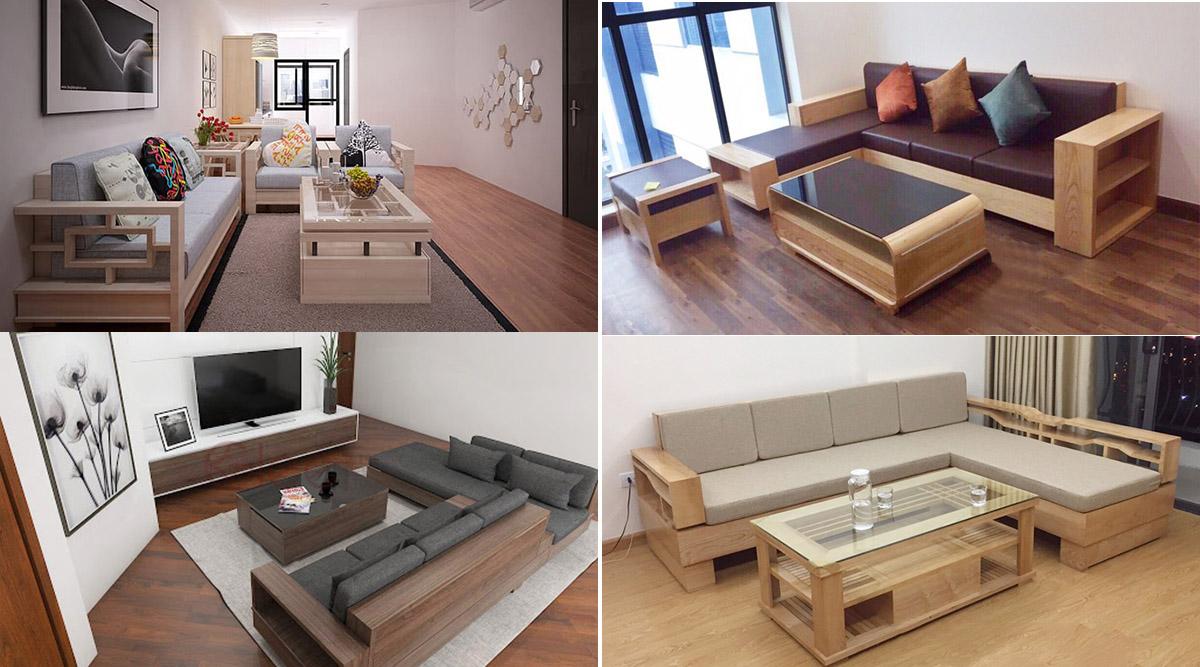 Cách chọn sofa gỗ hợp phong thủy theo các hướng kê