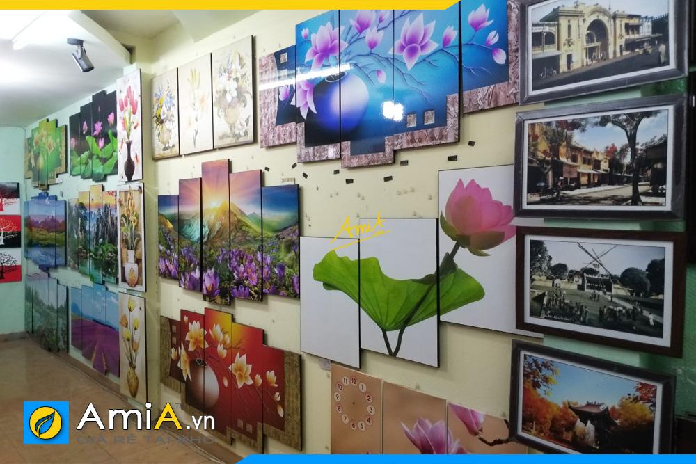 nơi bán nhiều tranh treo tường ở Hà Nội