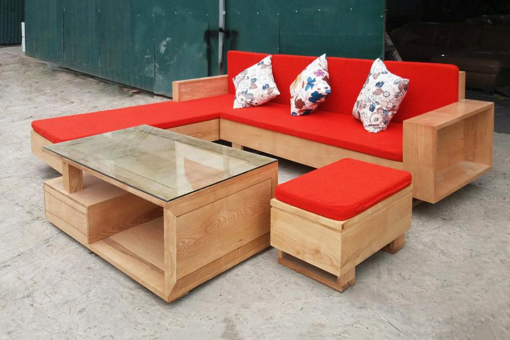sofa đỏ hợp mệnh hỏa