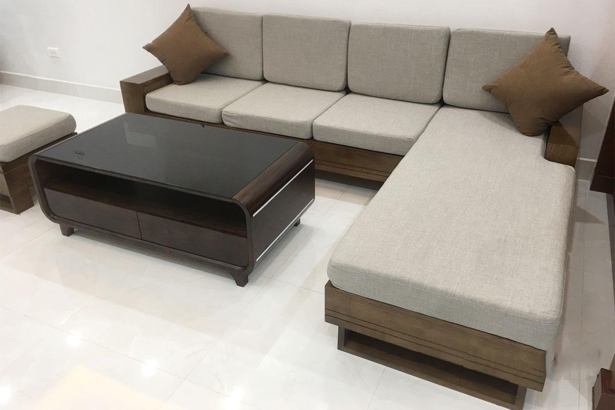 Hình ảnh đệm lót ghế sofa gỗ - Làm đệm sofa gỗ theo yêu cầu
