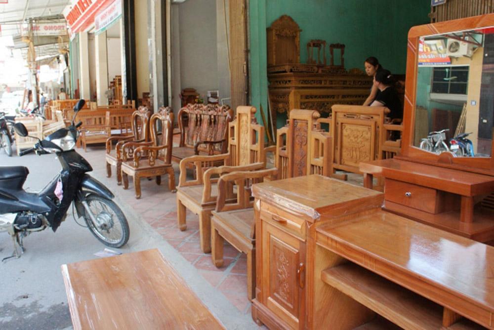 Hình ảnh cửa hàng bán sofa gỗ Thạch Thất - Địa chỉ bán sofa gỗ đẹp giá rẻ