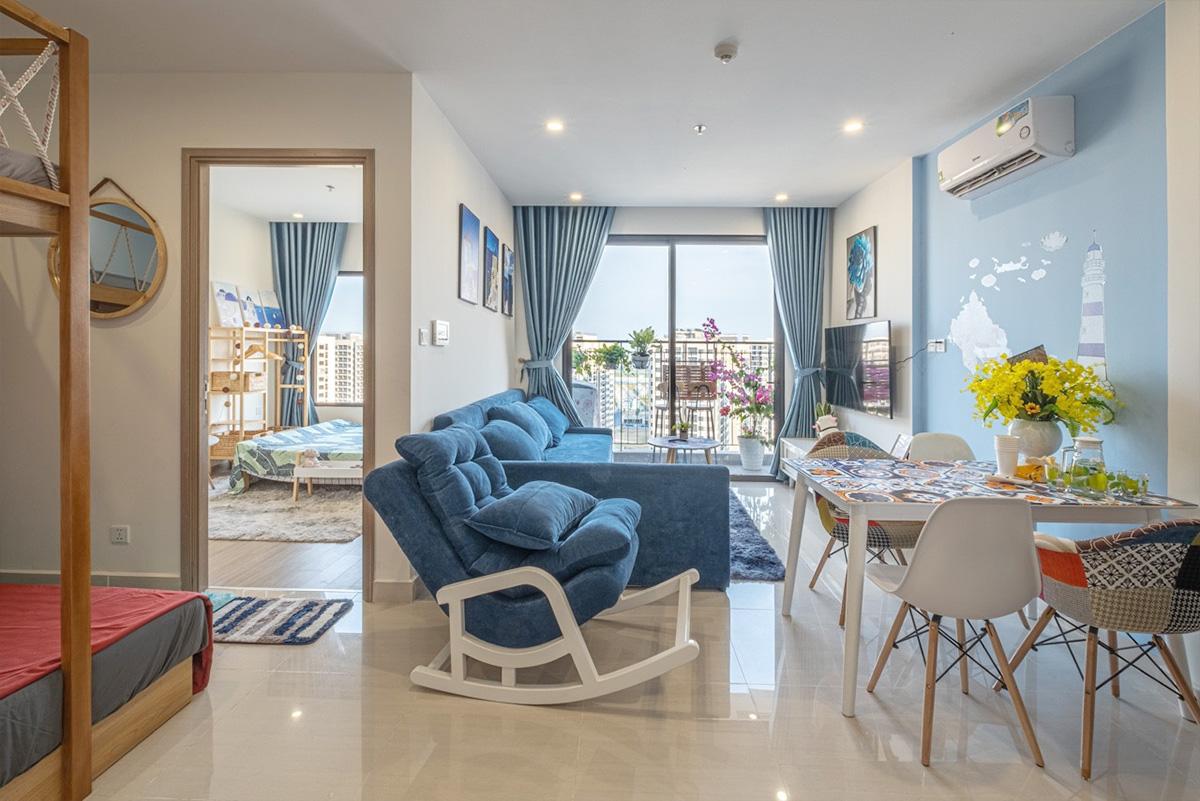 Hình ảnh Bàn ghế ăn 4 chỗ cho phòng khách chung cư hiện đại