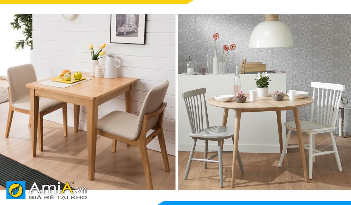Hình ảnh Bàn ghế ăn dành cho 2 người có nhiều mẫu mã kiểu dáng đẹp