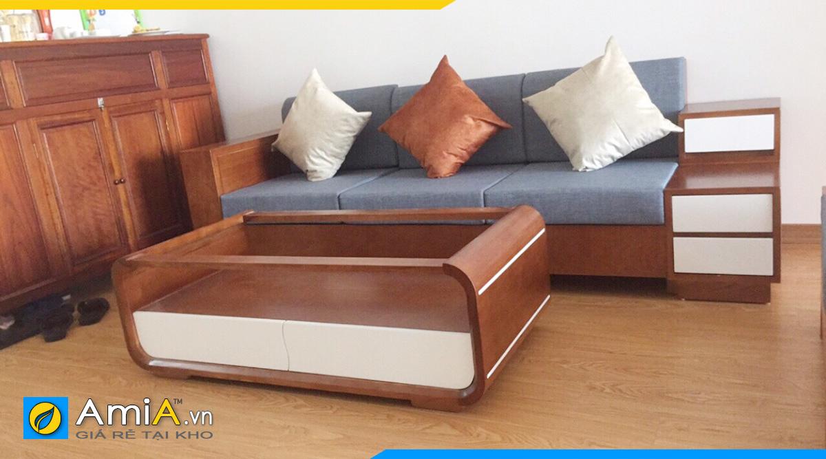 Sofa gỗ văng sang trọng