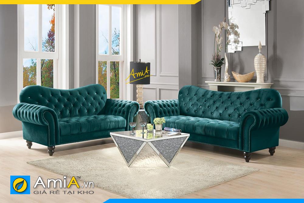 Những mẫu sofa văng tân cổ điển sang trọng quí phái