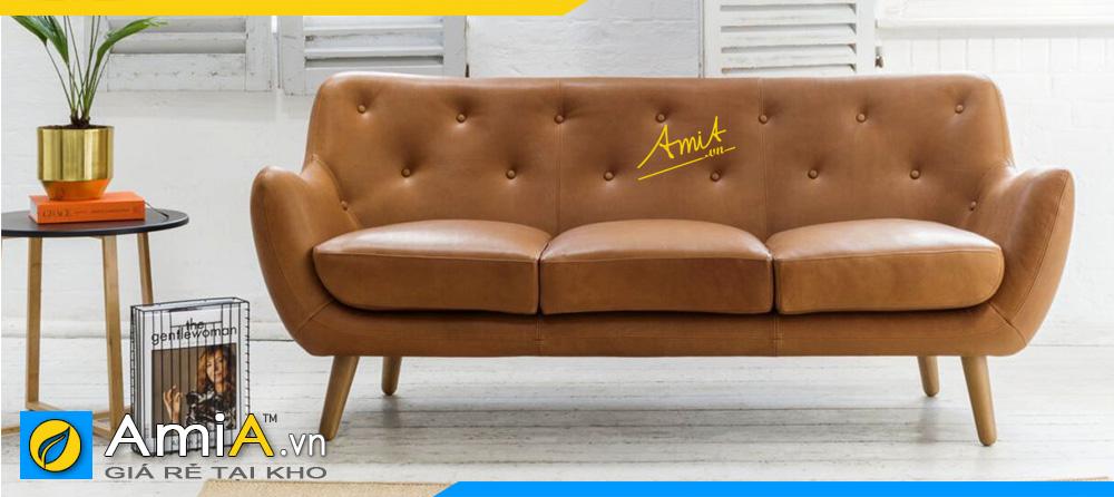 những mẫu ghế so pha văng da công nghiệp đẹp được yêu thích nhất hiện nay
