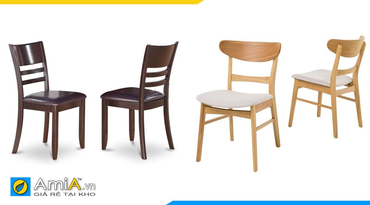 Hình ảnh Các mẫu ghế ăn cho bộ bàn ăn 2 chỗ đẹp hiện đại