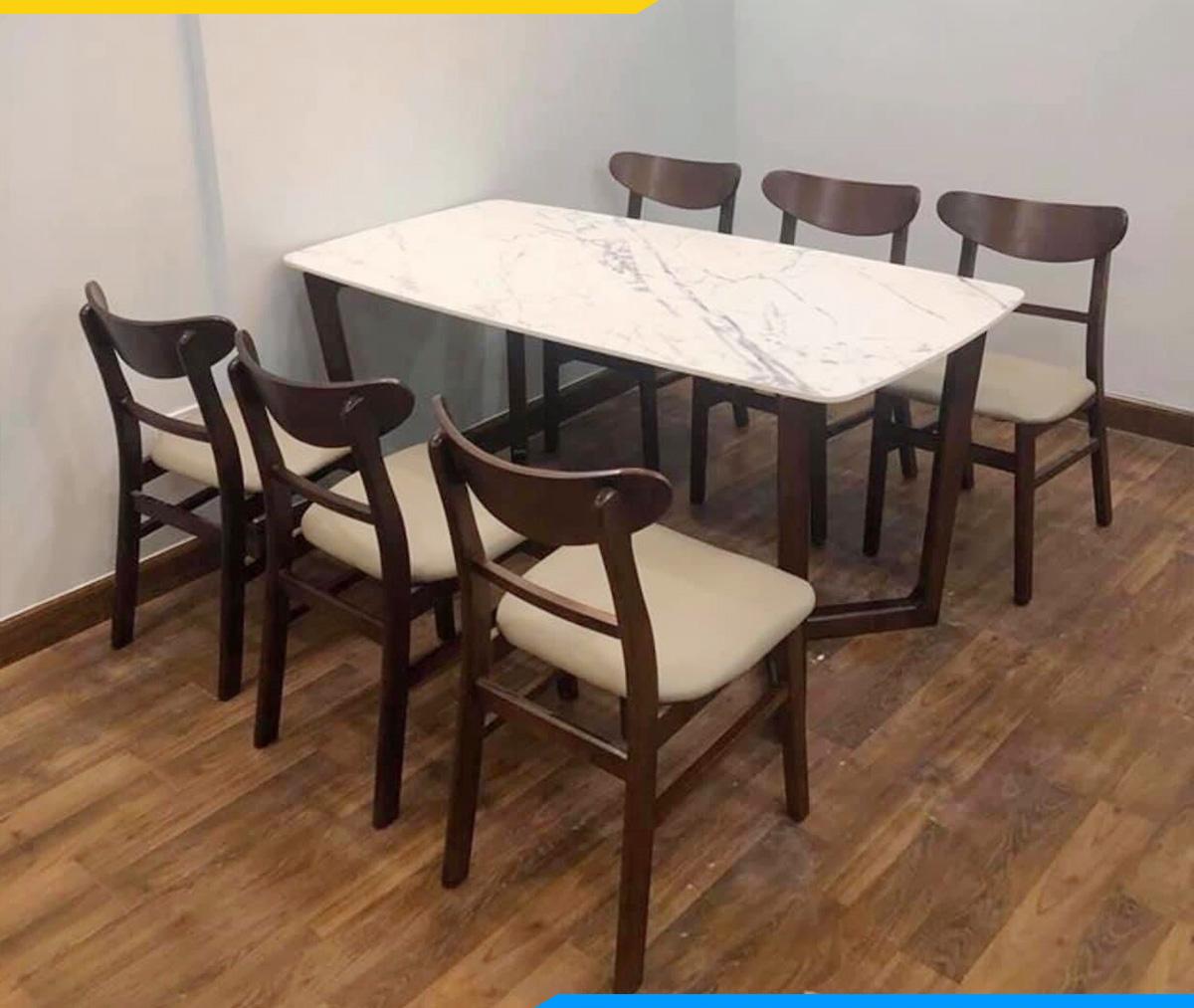 Hình ảnh Chọn bàn ghế ăn cho nhà có người lớn tuổi đẹp sang trọng