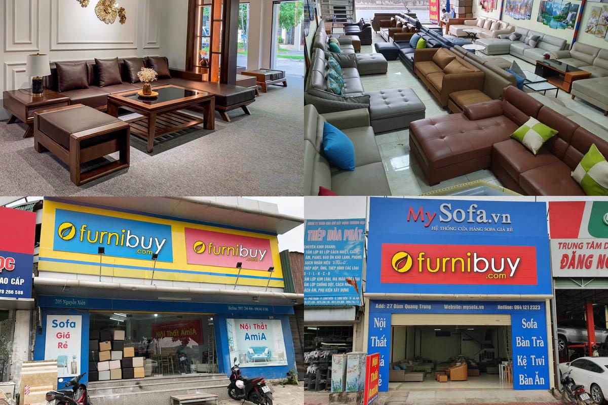 Đia chỉ bán sofa gỗ uy tín chất lượng tại Hà Đông