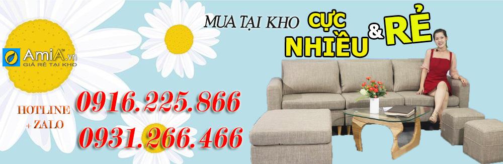 những mẫu sofa văng đẹp giá rẻ hà nội
