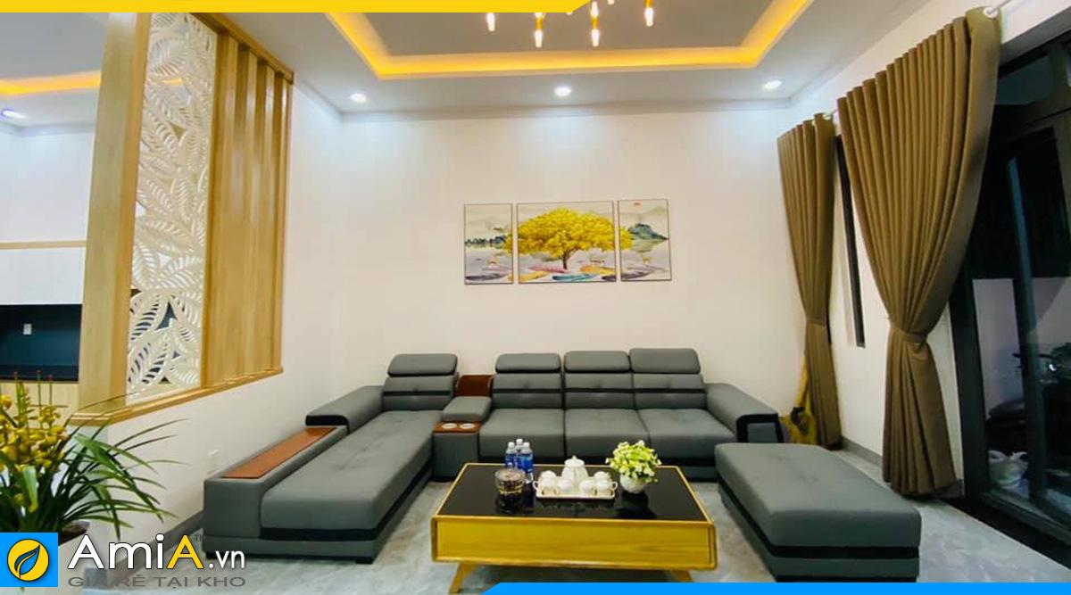 Mẫu ghế sofa cho phòng khách rộng hiện đại