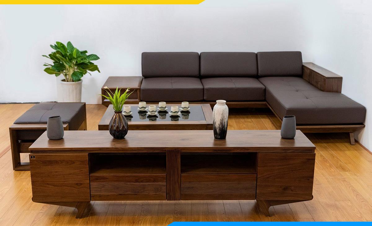 Sofa góc đẹp giá rẻ Hà Nội