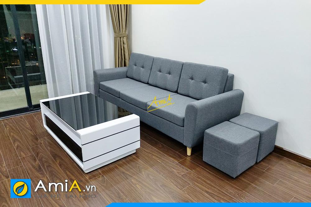 Hình ảnh Ghế sofa văng đẹp 3 chỗ kê phòng khách chung cư