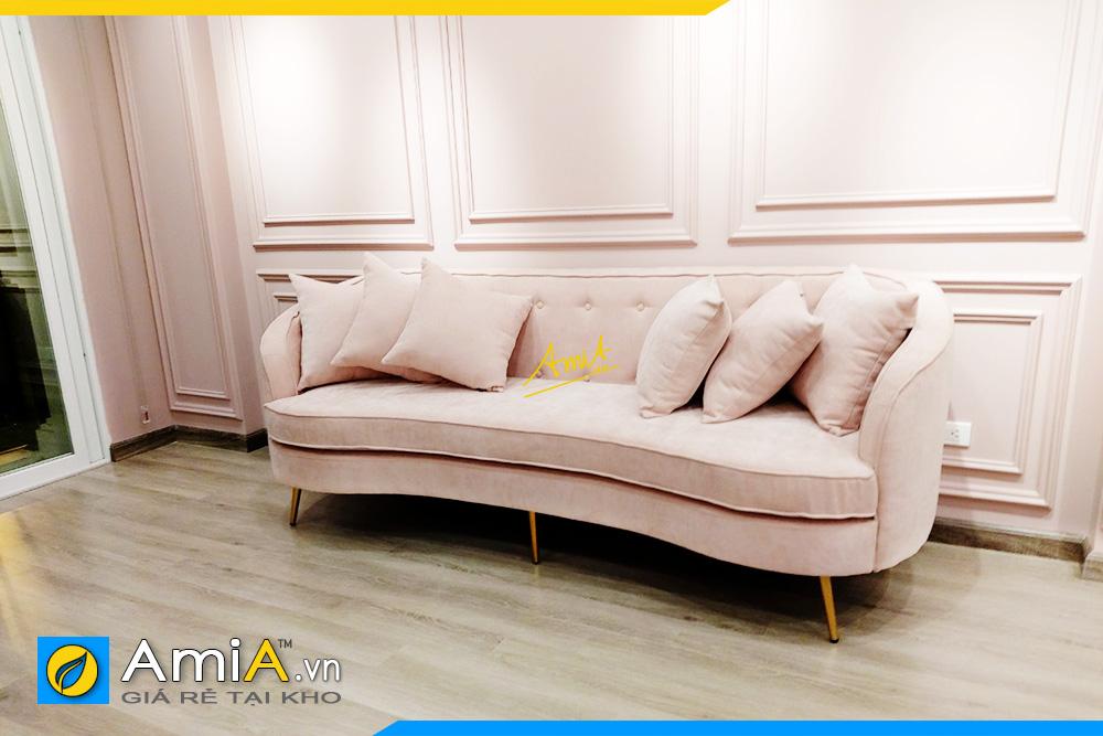 Hình ảnh Ghế sofa văng đẹp sang trọng kê cửa hàng quần áo