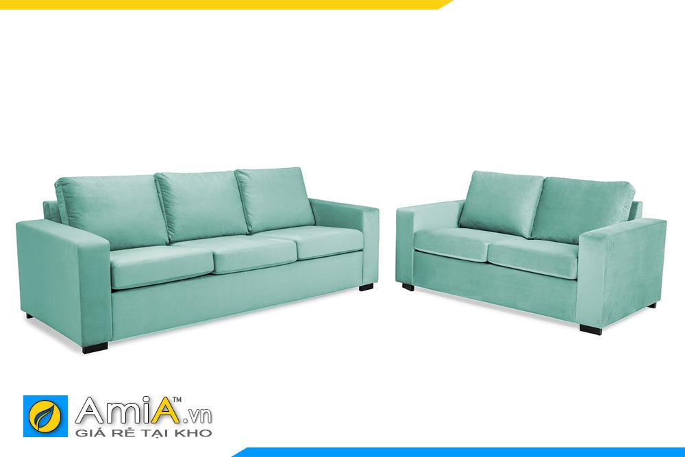 bộ sofa văng nỉ cho phòng khách đẹp
