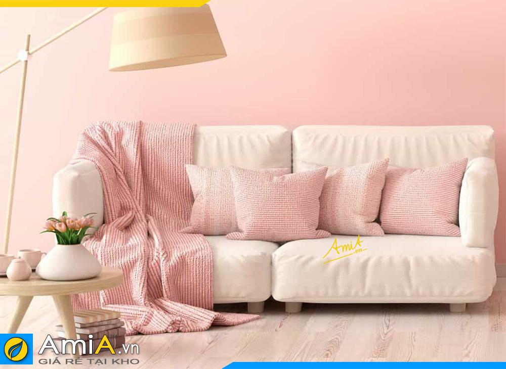 sofa văng màu trắng đẹp