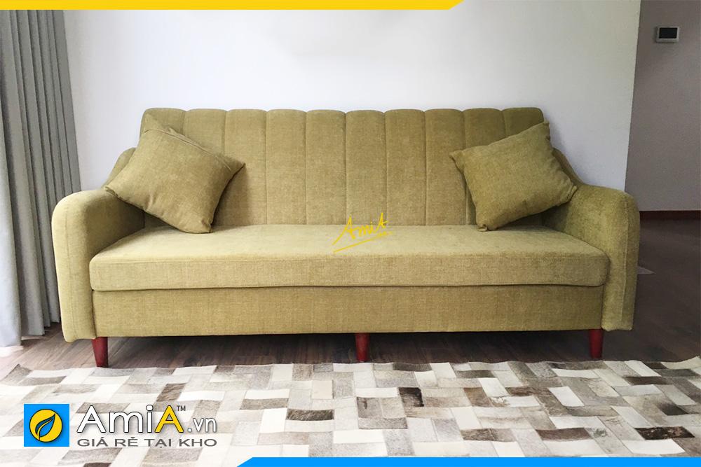 Hình ảnh Mẫu ghế sofa văng nỉ đẹp giá rẻ hiện đại tại Hà Nội