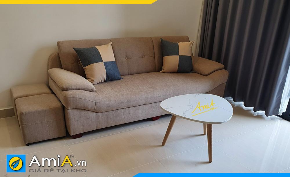 những mẫu sofa văng đẹp cho phòng khách nhỏ hẹp