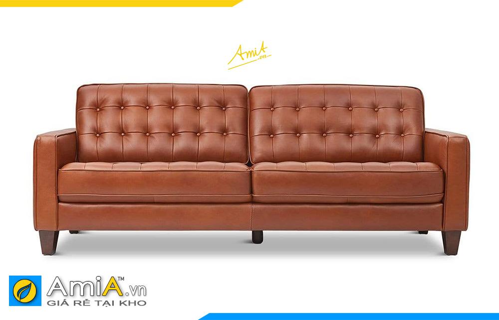 sofa văng bọc da giá rẻ tại hà nội