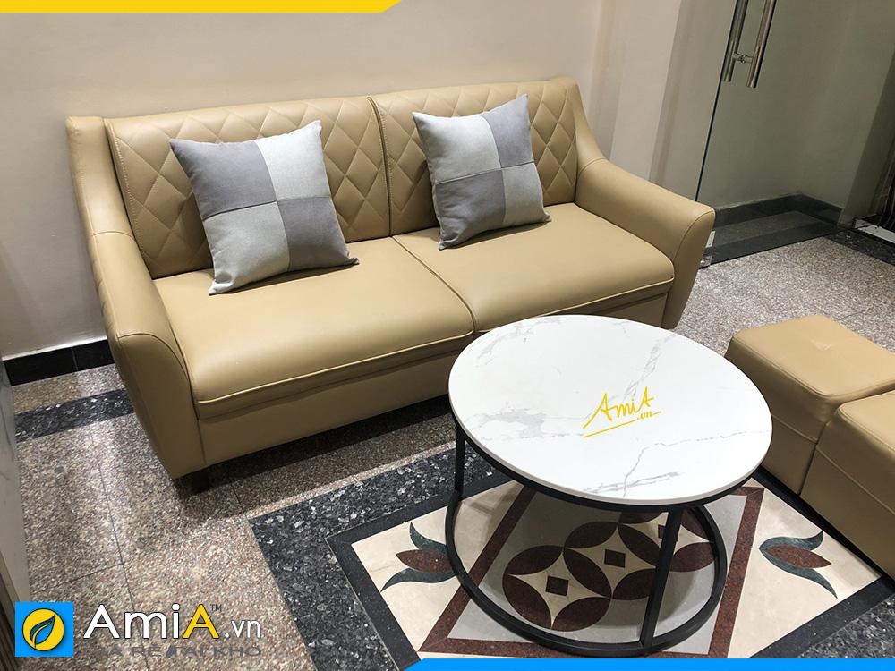 chia sẻ kinh nghiệm mua sofa văng cho phòng khách nhà ống