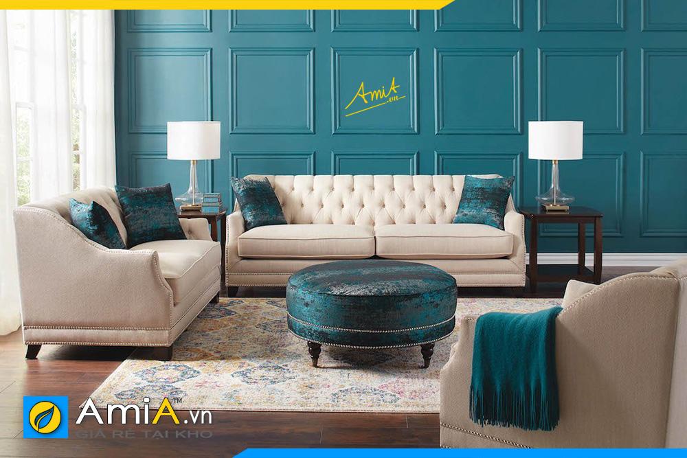 những mẫu sofa văng nỉ đẹp giá rẻ cho phòng khách