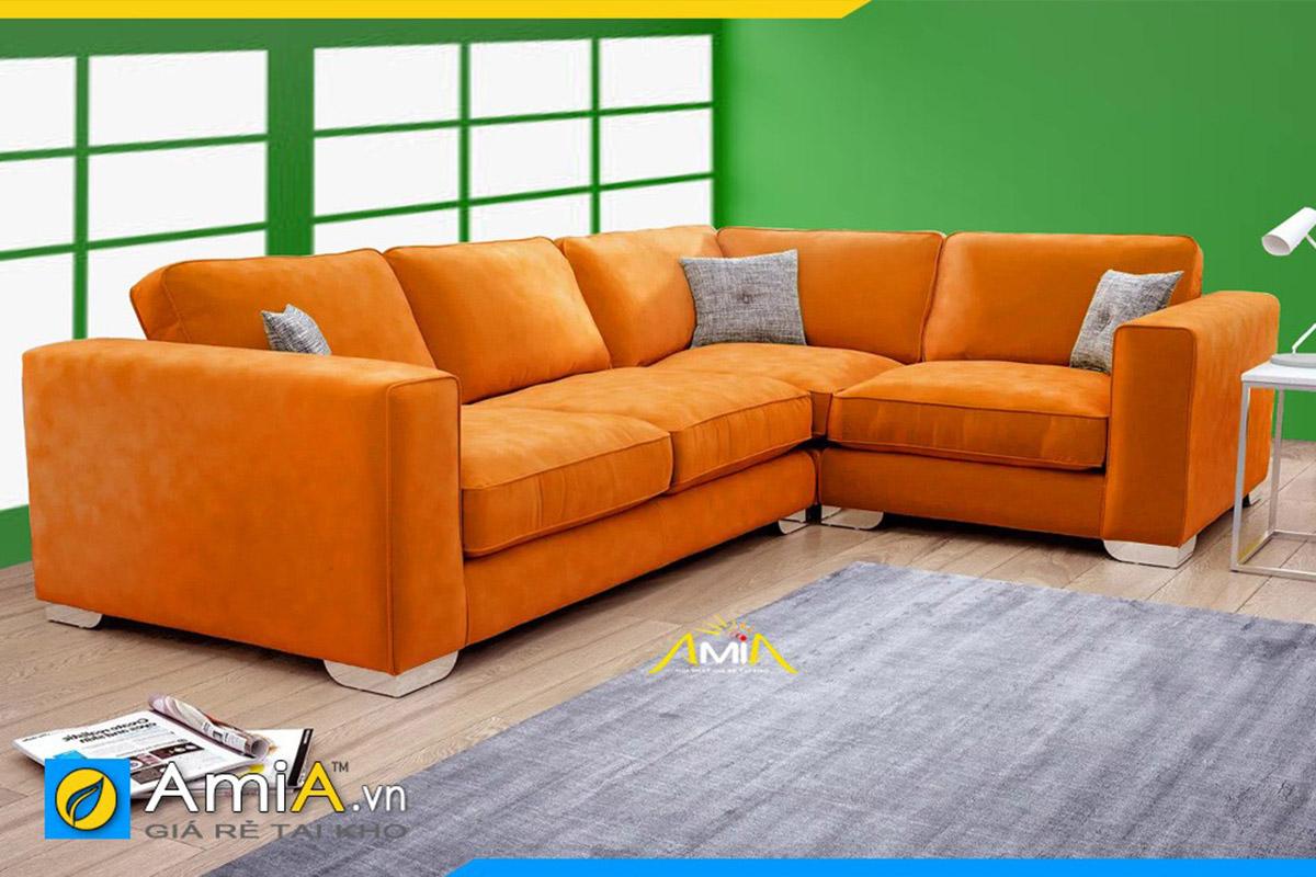 sofa vải nỉ đẹp giá rẻ