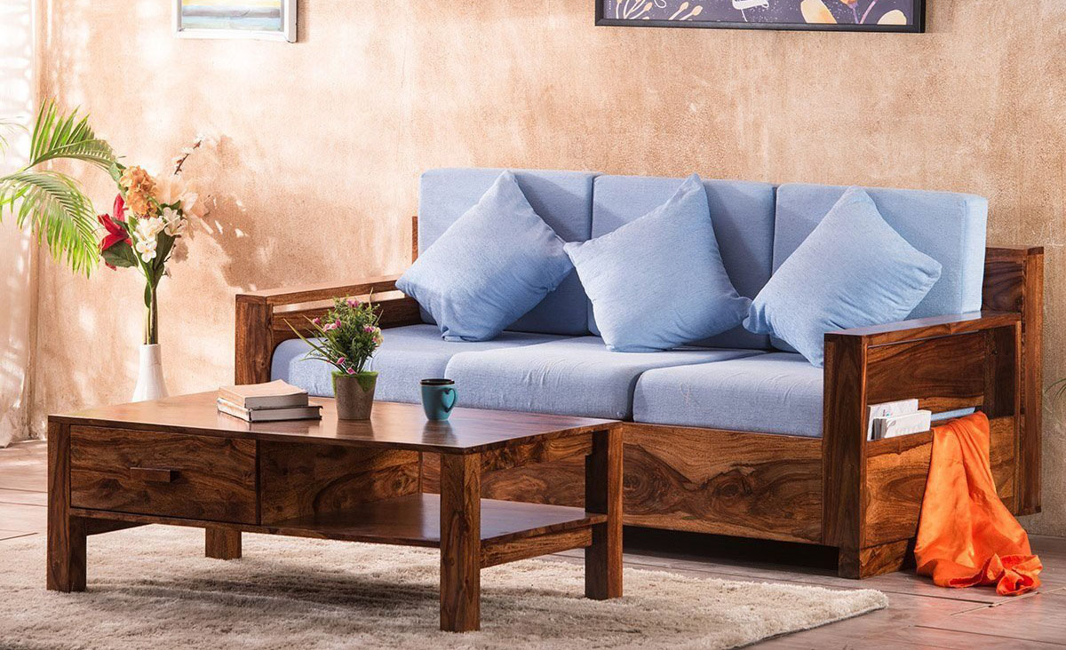 sofa gỗ cho tuổi Thìn