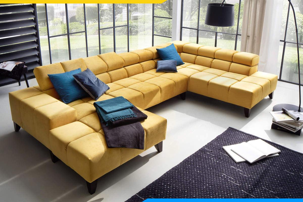 sofa góc hiện đại phòng khách