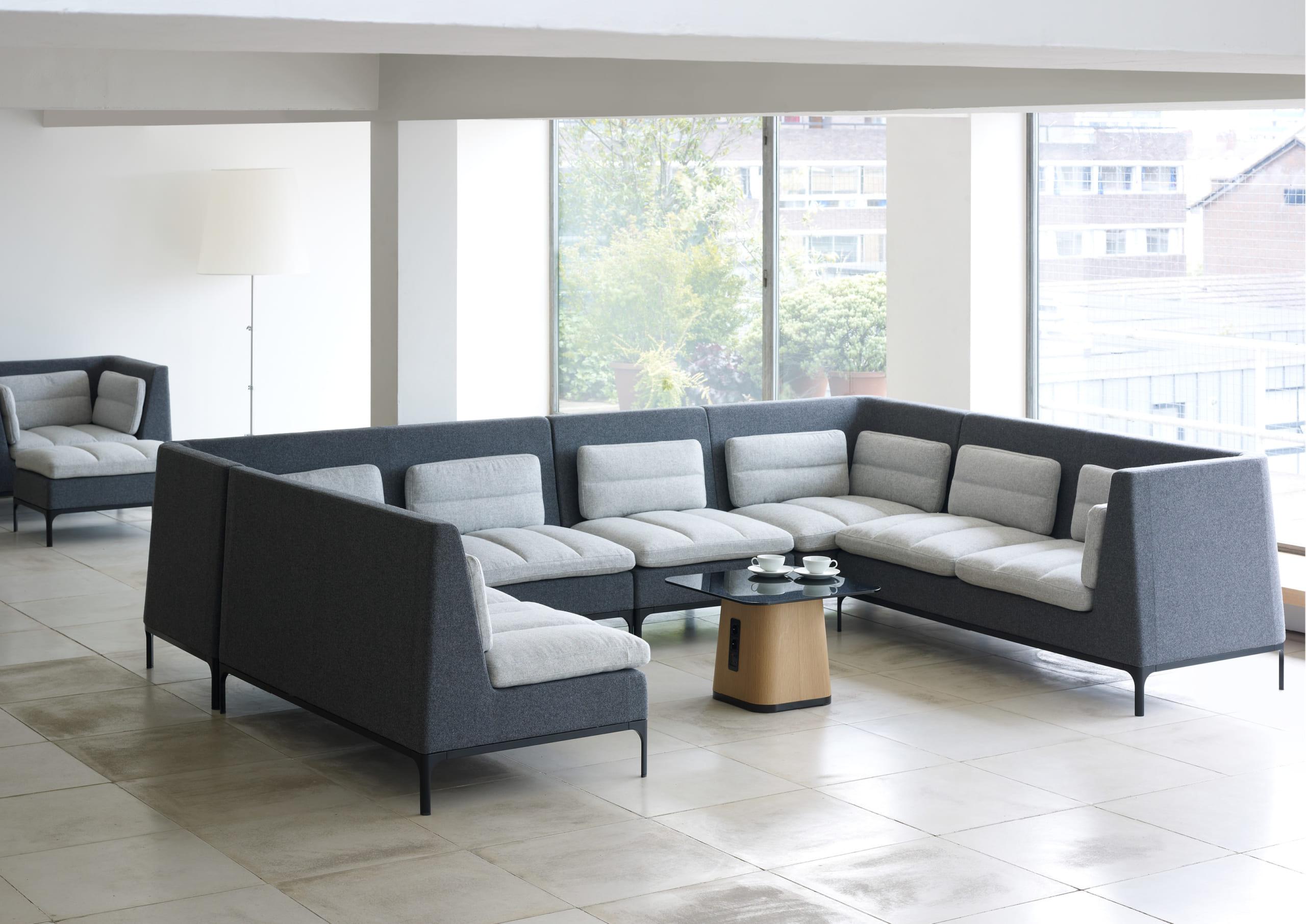 sofa góc cho phòng làm việc