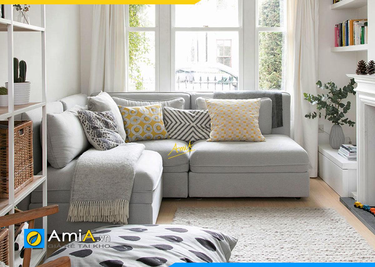 Sofa góc cho phòng khách nhỏ hẹp